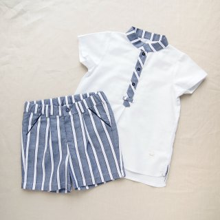 <img class='new_mark_img1' src='https://img.shop-pro.jp/img/new/icons20.gif' style='border:none;display:inline;margin:0px;padding:0px;width:auto;' />30%OFF baby lai - Stripy boy set up