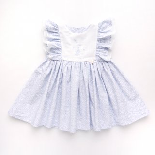 <img class='new_mark_img1' src='https://img.shop-pro.jp/img/new/icons14.gif' style='border:none;display:inline;margin:0px;padding:0px;width:auto;' />baby lai - Embroidered dress (Pale blue)