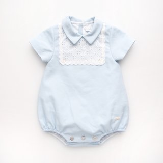 <img class='new_mark_img1' src='https://img.shop-pro.jp/img/new/icons14.gif' style='border:none;display:inline;margin:0px;padding:0px;width:auto;' />baby lai - Lacy romper (Pale blue)