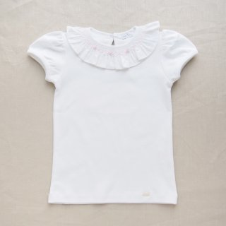 <img class='new_mark_img1' src='https://img.shop-pro.jp/img/new/icons14.gif' style='border:none;display:inline;margin:0px;padding:0px;width:auto;' />baby lai - Girl smocked T-shirt