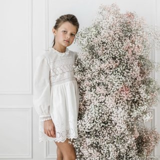 <img class='new_mark_img1' src='https://img.shop-pro.jp/img/new/icons14.gif' style='border:none;display:inline;margin:0px;padding:0px;width:auto;' />Petite Amalie - Embroidered BabyDoll Dress