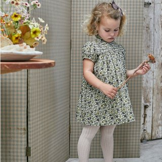 <img class='new_mark_img1' src='https://img.shop-pro.jp/img/new/icons14.gif' style='border:none;display:inline;margin:0px;padding:0px;width:auto;' />Amaia Kids - Villa dress (Liberty green)
