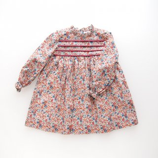 <img class='new_mark_img1' src='https://img.shop-pro.jp/img/new/icons14.gif' style='border:none;display:inline;margin:0px;padding:0px;width:auto;' />Amaia Kids - Villa dress (Liberty terracotta )