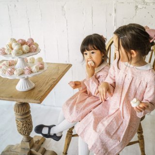 <img class='new_mark_img1' src='https://img.shop-pro.jp/img/new/icons23.gif' style='border:none;display:inline;margin:0px;padding:0px;width:auto;' />15%OFF - Amaia Kids - Pilar dress (Pale pink)