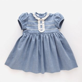 <img class='new_mark_img1' src='https://img.shop-pro.jp/img/new/icons23.gif' style='border:none;display:inline;margin:0px;padding:0px;width:auto;' />15%OFF - Amaia Kids - Pruna dress (Blue)