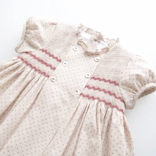 <img class='new_mark_img1' src='https://img.shop-pro.jp/img/new/icons14.gif' style='border:none;display:inline;margin:0px;padding:0px;width:auto;' />Amaia Kids - Serena dress (Pink/ Beige)