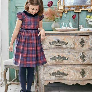 <img class='new_mark_img1' src='https://img.shop-pro.jp/img/new/icons23.gif' style='border:none;display:inline;margin:0px;padding:0px;width:auto;' />15%OFF - Amaia Kids - Raisin dress (Tartan)