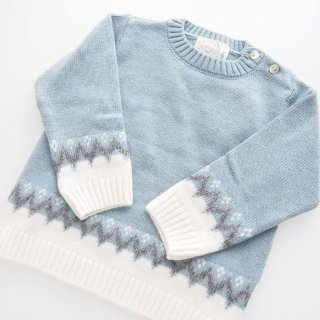 Malvi&Co. - Boy sweater (Pale blue)