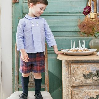 <img class='new_mark_img1' src='https://img.shop-pro.jp/img/new/icons14.gif' style='border:none;display:inline;margin:0px;padding:0px;width:auto;' />Amaia Kids -  Gull shorts (Tartan)