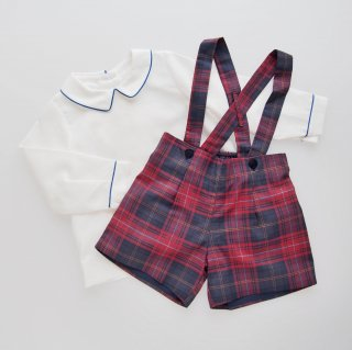<img class='new_mark_img1' src='https://img.shop-pro.jp/img/new/icons14.gif' style='border:none;display:inline;margin:0px;padding:0px;width:auto;' />Amaia Kids -  Eliott shorts (Tartan)