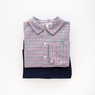 <img class='new_mark_img1' src='https://img.shop-pro.jp/img/new/icons14.gif' style='border:none;display:inline;margin:0px;padding:0px;width:auto;' />Amaia Kids -  Chickadee shirt (Multi gingham)