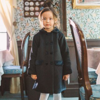 Malvi&Co. - Classic double-breasted coat (Navy)