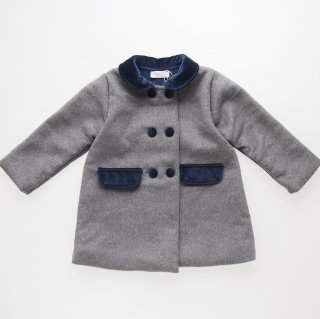 Malvi&Co. - Classic double-breasted coat (Grey)