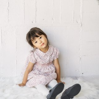 Malvi&Co. - Dots smocked dress (Pink)