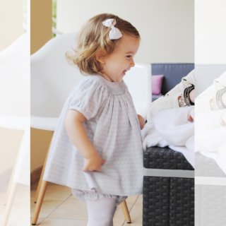 <img class='new_mark_img1' src='https://img.shop-pro.jp/img/new/icons14.gif' style='border:none;display:inline;margin:0px;padding:0px;width:auto;' />Aruca - Smocked baby set (Pale blue)
