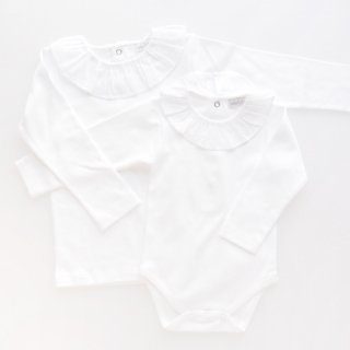 Laivicar / baby lai - Frill collar long sleeve T-shirt/ body
