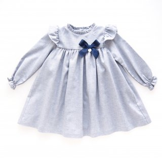 Laivicar / baby lai - Shoulder frill dress