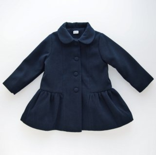 <img class='new_mark_img1' src='https://img.shop-pro.jp/img/new/icons14.gif' style='border:none;display:inline;margin:0px;padding:0px;width:auto;' />Laivicar / baby lai - Wool-like navy coat