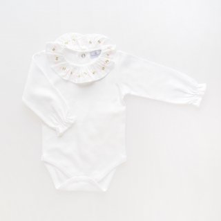 <img class='new_mark_img1' src='https://img.shop-pro.jp/img/new/icons14.gif' style='border:none;display:inline;margin:0px;padding:0px;width:auto;' />Laivicar / baby lai - Embroidery collar bodysuit