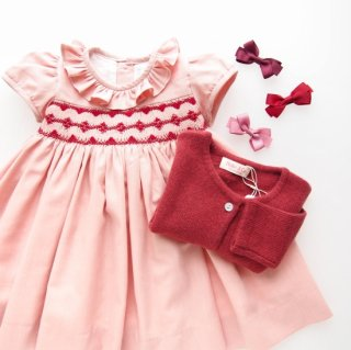 <img class='new_mark_img1' src='https://img.shop-pro.jp/img/new/icons14.gif' style='border:none;display:inline;margin:0px;padding:0px;width:auto;' />Amaia Kids -  Moohren dress (Pink)