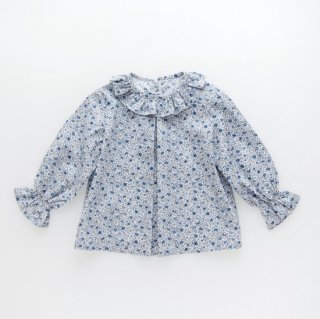 <img class='new_mark_img1' src='https://img.shop-pro.jp/img/new/icons14.gif' style='border:none;display:inline;margin:0px;padding:0px;width:auto;' />Amaia Kids -  Elena blouse (Liberty blue)