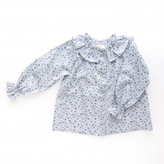 <img class='new_mark_img1' src='https://img.shop-pro.jp/img/new/icons23.gif' style='border:none;display:inline;margin:0px;padding:0px;width:auto;' />15%OFF - Amaia Kids -  Ariane blouse (Liberty blue)