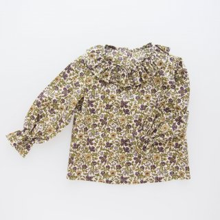 <img class='new_mark_img1' src='https://img.shop-pro.jp/img/new/icons14.gif' style='border:none;display:inline;margin:0px;padding:0px;width:auto;' />Amaia Kids -  Amelia blouse (Liberty green)