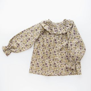 <img class='new_mark_img1' src='https://img.shop-pro.jp/img/new/icons14.gif' style='border:none;display:inline;margin:0px;padding:0px;width:auto;' />Amaia Kids -  Ariane blouse (Liberty green)