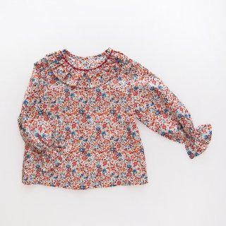 <img class='new_mark_img1' src='https://img.shop-pro.jp/img/new/icons14.gif' style='border:none;display:inline;margin:0px;padding:0px;width:auto;' />Amaia Kids -  Gloria blouse (Liberty terracotta)