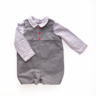 <img class='new_mark_img1' src='https://img.shop-pro.jp/img/new/icons23.gif' style='border:none;display:inline;margin:0px;padding:0px;width:auto;' />15%OFF - Amaia Kids -  Croque Monsieur (Grey)