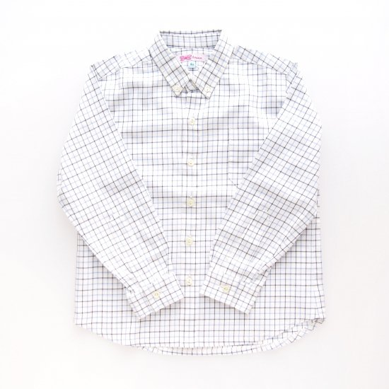 <img class='new_mark_img1' src='https://img.shop-pro.jp/img/new/icons23.gif' style='border:none;display:inline;margin:0px;padding:0px;width:auto;' />15%OFF - Amaia Kids -  Chickadee shirt (Blue check)