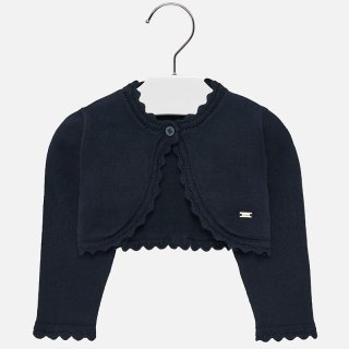 <img class='new_mark_img1' src='https://img.shop-pro.jp/img/new/icons14.gif' style='border:none;display:inline;margin:0px;padding:0px;width:auto;' />Mayoral -  Basic knitted cardigan (Navy)