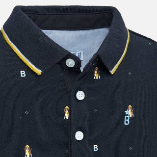 <img class='new_mark_img1' src='https://img.shop-pro.jp/img/new/icons14.gif' style='border:none;display:inline;margin:0px;padding:0px;width:auto;' />Mayoral - Long sleeve beagle dog polo