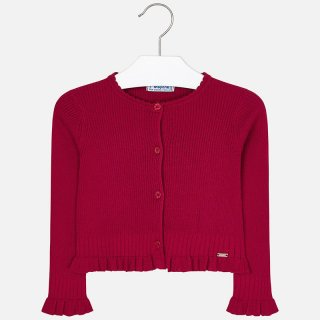 <img class='new_mark_img1' src='https://img.shop-pro.jp/img/new/icons14.gif' style='border:none;display:inline;margin:0px;padding:0px;width:auto;' />Mayoral -  Rib knit cardigan (Red)