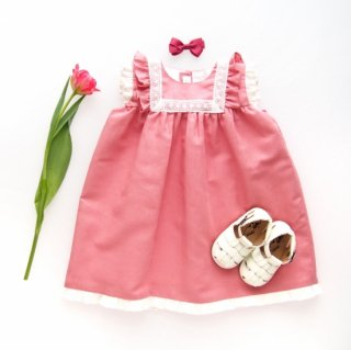 <img class='new_mark_img1' src='https://img.shop-pro.jp/img/new/icons14.gif' style='border:none;display:inline;margin:0px;padding:0px;width:auto;' />Amaia Kids - Menorca dress(Rose pink)