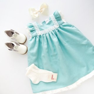 <img class='new_mark_img1' src='https://img.shop-pro.jp/img/new/icons14.gif' style='border:none;display:inline;margin:0px;padding:0px;width:auto;' />Amaia Kids - Menorca dress (Turquoise)