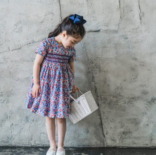 <img class='new_mark_img1' src='https://img.shop-pro.jp/img/new/icons14.gif' style='border:none;display:inline;margin:0px;padding:0px;width:auto;' />Amaia Kids - San Sebastian dress (Liberty red & blue)