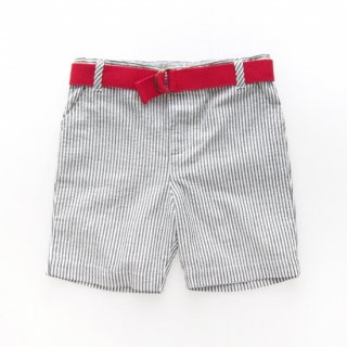 <img class='new_mark_img1' src='https://img.shop-pro.jp/img/new/icons14.gif' style='border:none;display:inline;margin:0px;padding:0px;width:auto;' />Malvi&Co. - Stripy boy shorts (Red/Grey)