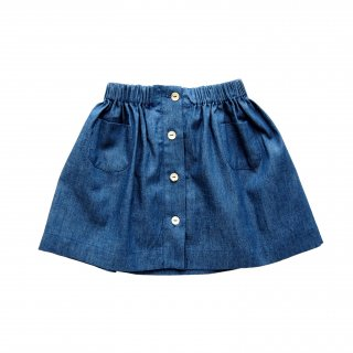 <img class='new_mark_img1' src='https://img.shop-pro.jp/img/new/icons14.gif' style='border:none;display:inline;margin:0px;padding:0px;width:auto;' />Amaia Kids - Juliette skirt (Denim)