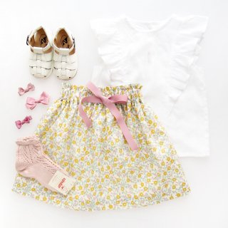 <img class='new_mark_img1' src='https://img.shop-pro.jp/img/new/icons14.gif' style='border:none;display:inline;margin:0px;padding:0px;width:auto;' />Amaia Kids - Ana skirt (Liberty yellow)