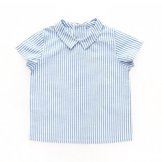 <img class='new_mark_img1' src='https://img.shop-pro.jp/img/new/icons14.gif' style='border:none;display:inline;margin:0px;padding:0px;width:auto;' />Amaia Kids - Mallard shirt (Blue wide stripe)