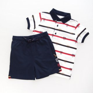 <img class='new_mark_img1' src='https://img.shop-pro.jp/img/new/icons14.gif' style='border:none;display:inline;margin:0px;padding:0px;width:auto;' />Mayoral - Regata polo & shorts set