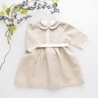 <img class='new_mark_img1' src='https://img.shop-pro.jp/img/new/icons14.gif' style='border:none;display:inline;margin:0px;padding:0px;width:auto;' />Twin and Chic - Cala dress (Natural)