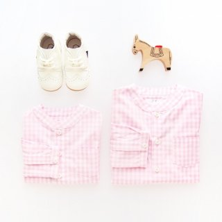 <img class='new_mark_img1' src='https://img.shop-pro.jp/img/new/icons14.gif' style='border:none;display:inline;margin:0px;padding:0px;width:auto;' />Twin and Chic - Lirio shirt (Pink vichy)
