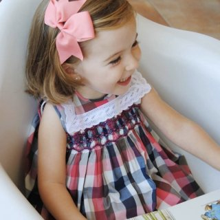 <img class='new_mark_img1' src='https://img.shop-pro.jp/img/new/icons14.gif' style='border:none;display:inline;margin:0px;padding:0px;width:auto;' />Aruca - Sailor smocked dress