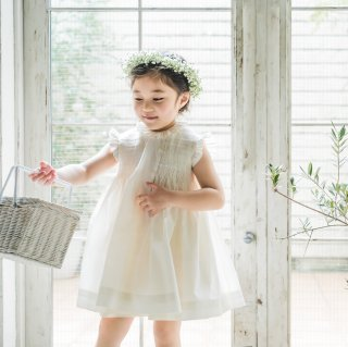 <img class='new_mark_img1' src='https://img.shop-pro.jp/img/new/icons14.gif' style='border:none;display:inline;margin:0px;padding:0px;width:auto;' />Aruca - Batista smocked dress