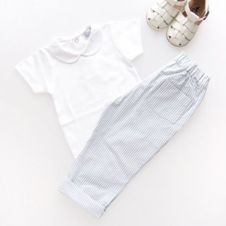 <img class='new_mark_img1' src='https://img.shop-pro.jp/img/new/icons14.gif' style='border:none;display:inline;margin:0px;padding:0px;width:auto;' />Amaia Kids - Tito trousers (Blue stripe)