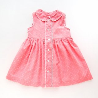 <img class='new_mark_img1' src='https://img.shop-pro.jp/img/new/icons14.gif' style='border:none;display:inline;margin:0px;padding:0px;width:auto;' />Amaia Kids - Caroline dress (Pink dots)