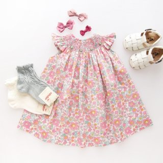 <img class='new_mark_img1' src='https://img.shop-pro.jp/img/new/icons14.gif' style='border:none;display:inline;margin:0px;padding:0px;width:auto;' />Amaia Kids - Butterfly dress (Liberty pink)