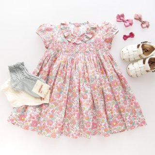 <img class='new_mark_img1' src='https://img.shop-pro.jp/img/new/icons14.gif' style='border:none;display:inline;margin:0px;padding:0px;width:auto;' />Amaia Kids - Moohren dress (Liberty pink)